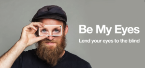 Be My Eyes – How You Can Help Blind People See