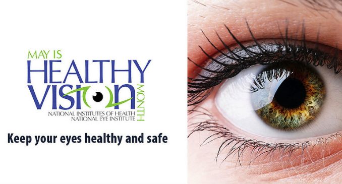 It's Healthy Vision Month! Make Your Eye Health a Priority